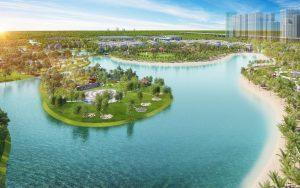 Biển nhân tạo VInhomees Grand Park