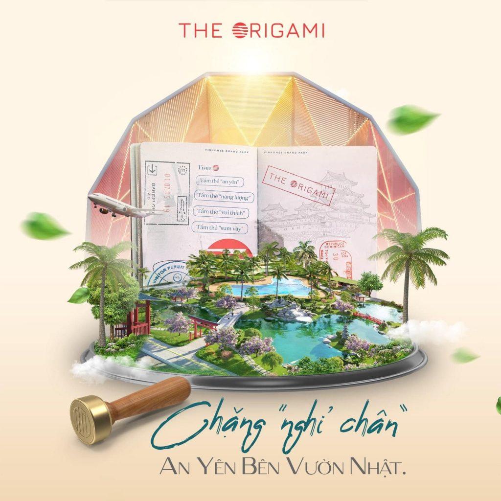 Chặng nghỉ chân Origami Vinhomes Grand Park