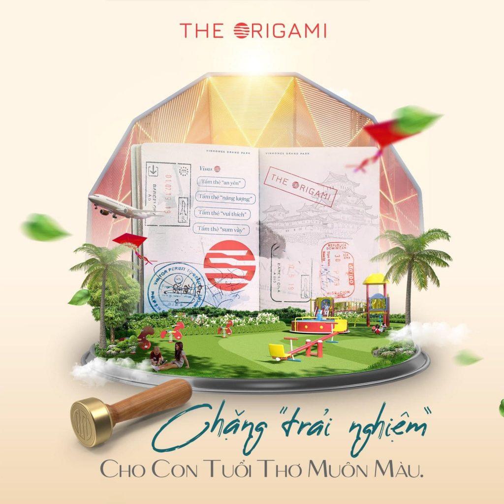 Chặng trải nghiệm Origami Vinhomes Grand Park
