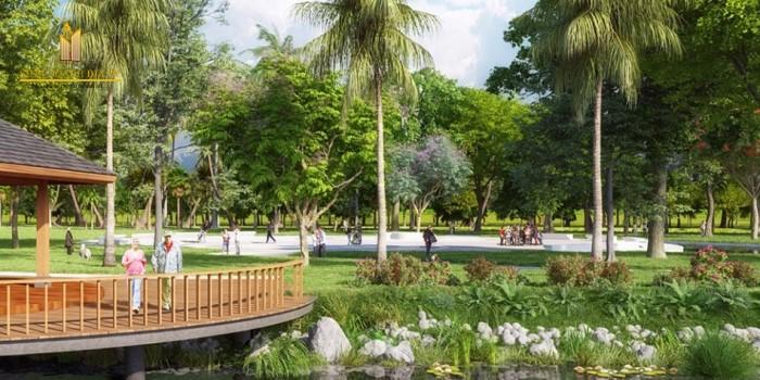 Công viên dưỡng sinh tại Vinhomes Grand Park