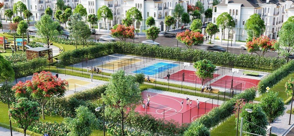 Khu thể dục thể thao Vinhomes Grand Park