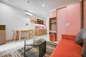 Phòng khách Studio Vinhomes Grand Park