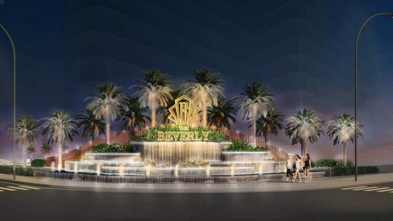 Cồng chào The Beverly Vinhomes Grand Park sang trọng