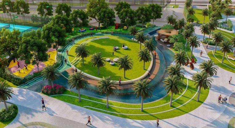 Công viên nội khu The Beverly Vinhomes Grand Park