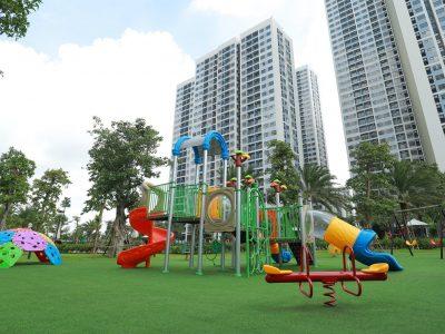 Sân chơi cho bé tại Vinhomes Grand Park